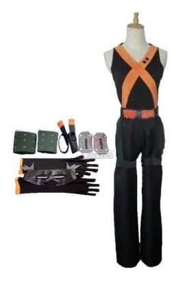 my hero academia katsuki bakug anime cosplay costumes battle costumes