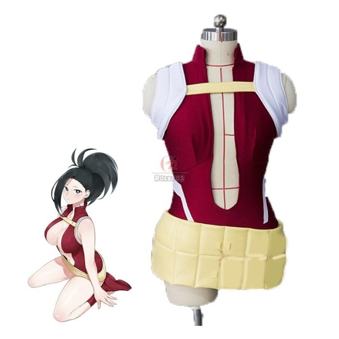 my hero academia momo yaoyorozu women anime cosplay costumes