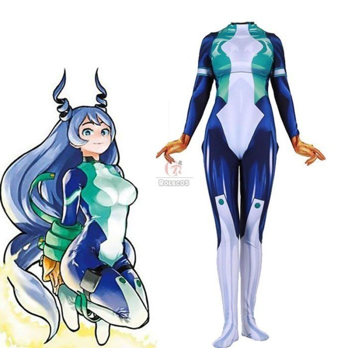 my hero academia nejire hado bodysuit jumpsuit cosplay costume 3