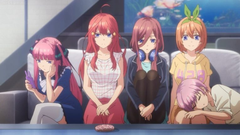 The BEST Anime Characters From Quintessential Quintuplets (In Ranking Order)