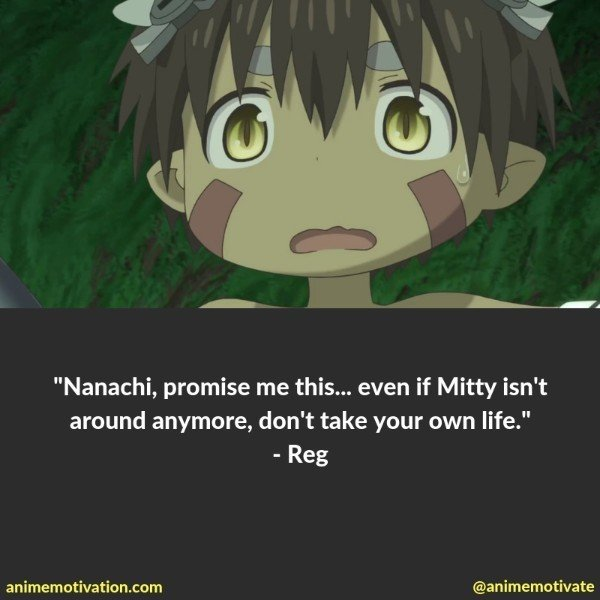 "The Greatest Quotes Of ALL Time From ""Made In Abyss"""