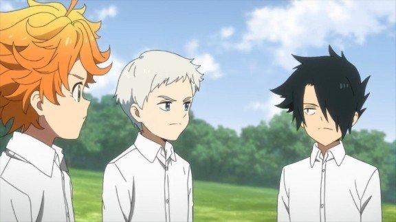 the promised neverland anime screencap