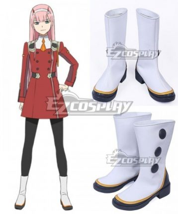 zero two white shoes cosplay