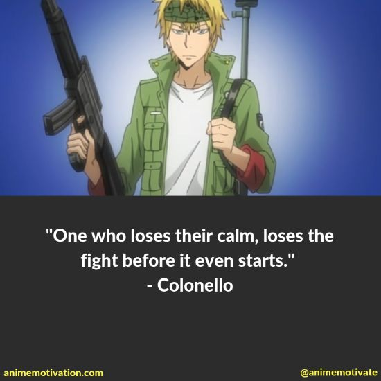A Collection Of The Greatest Quotes From Katekyo Hitman Reborn! 42
