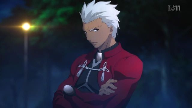 archer fate stay night unlimited bladeworks