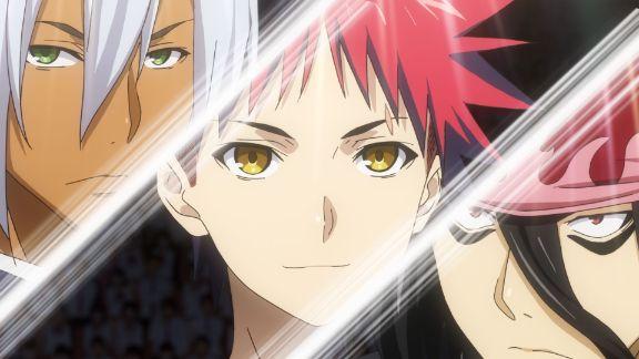 food wars anime characters 1