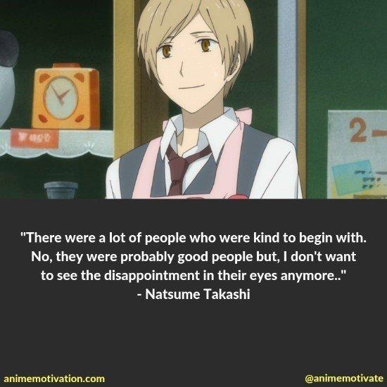 natsume takashi quotes 5