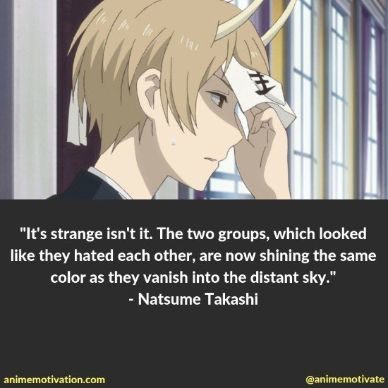 natsume takashi quotes 8
