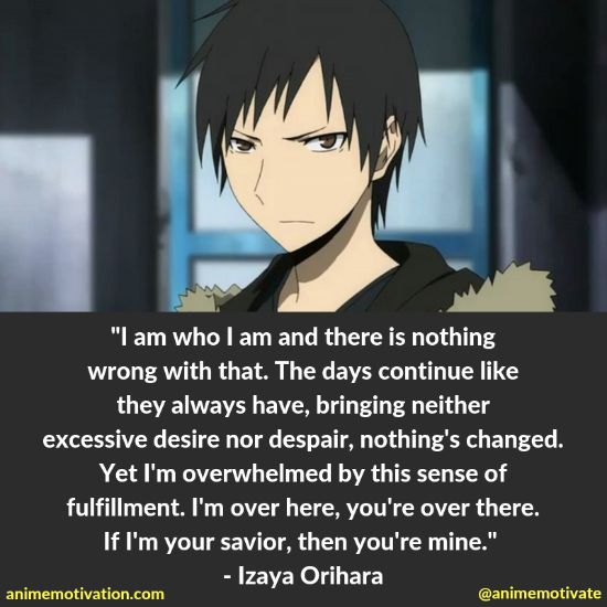 55+ Timeless Quotes From Durarara That Will Make You Think