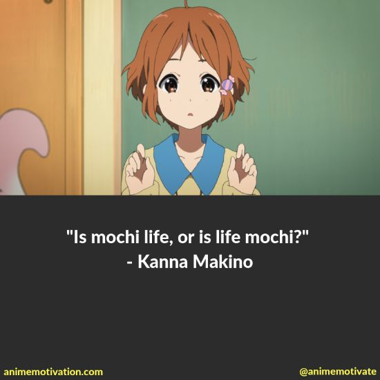 A Collection Of The Best Quotes From Tamako Market For Anime Fans 9