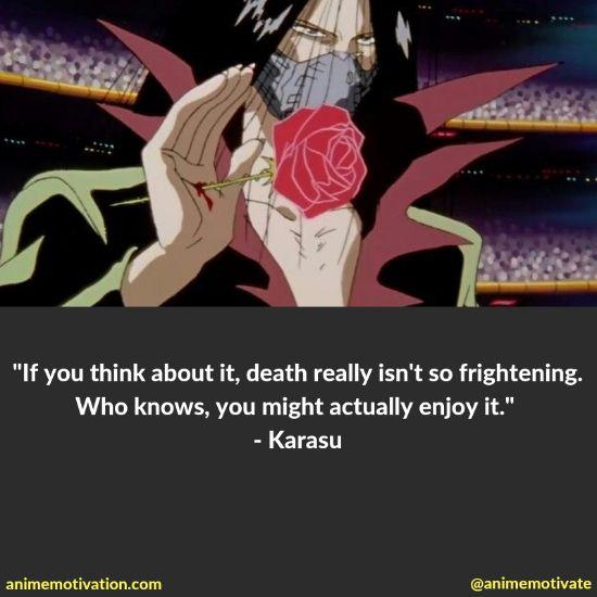 karasu quotes yu yu hakusho