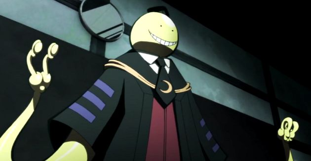 koro sensei anime teacher