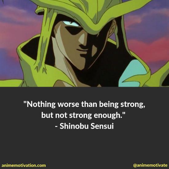 shinobu sensui quotes