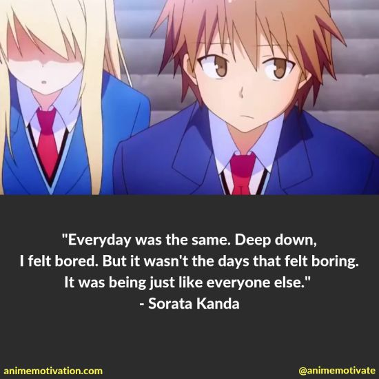 "A Collection Of The BEST Quotes From ""The Pet Girl of Sakurasou"" 5"