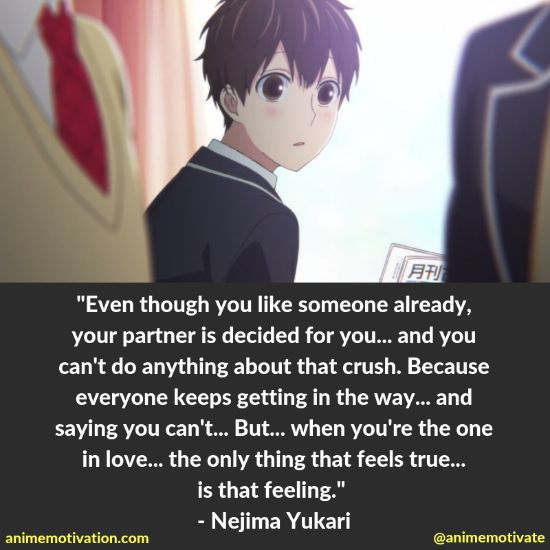 """A Collection Of Powerful """"Koi To Uso"""" Quotes With A Purpose"""