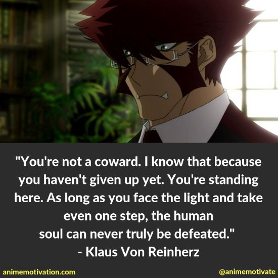 Kekkai Sensen's GREATEST Anime Quotes Of All Time (Blood Blockade Battlefront)
