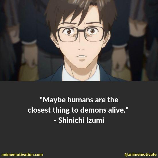 shinichi izumi quotes 2