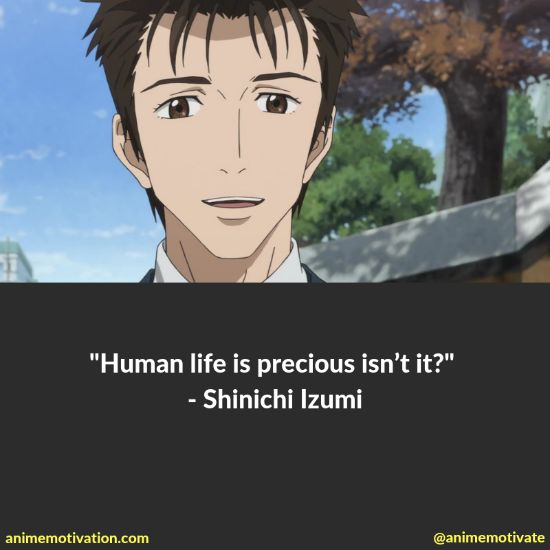 A Collection Of Powerful Quotes From Parasyte: The Maxim!