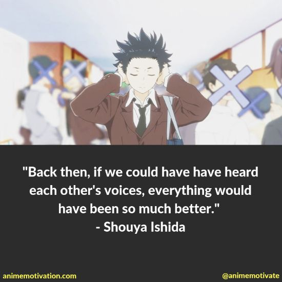 """A Handful Of The Most """"Touching"""" Quotes From A Silent Voice"""