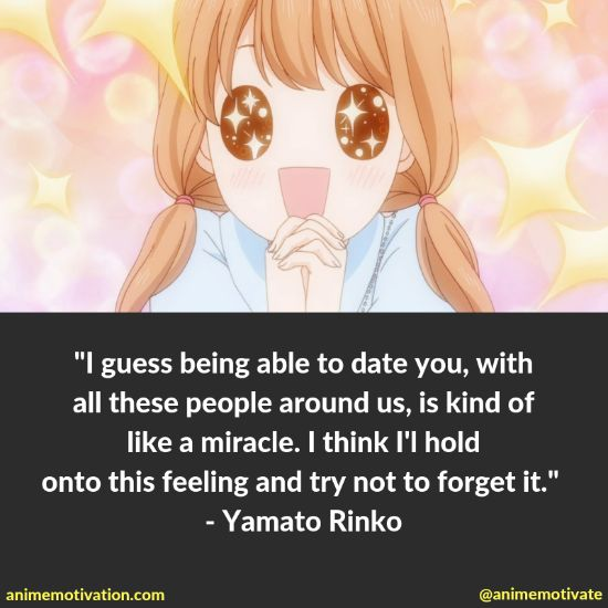All Of The Most Meaningful Quotes About Romance From Ore Monogatari (My Love Story)