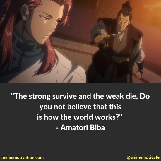 Amatori Biba quotes kabaneri 2