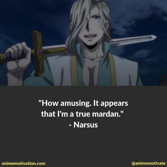 """All Of The Best Quotes Taken From """"The Heroic Legend Of Arslan"""" Anime 19"""