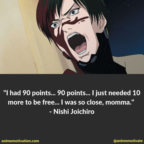 """A Collection Of Quotes From """"Gantz"""" Anime Fans Should See"""