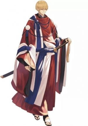 Norway anime flag character