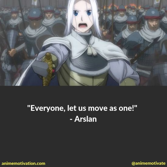 """All Of The Best Quotes Taken From """"The Heroic Legend Of Arslan"""" Anime 5"""
