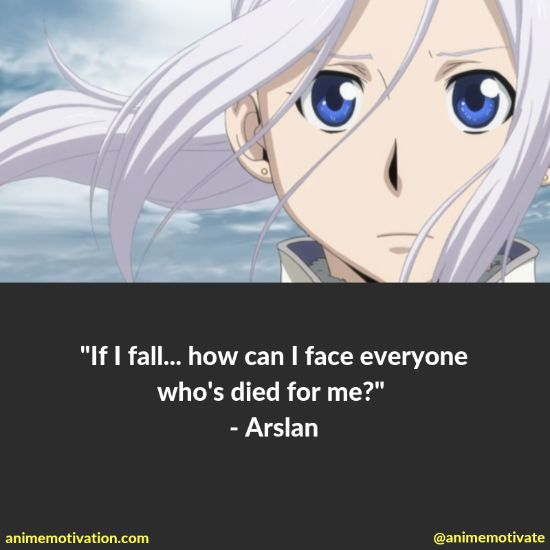 """All Of The Best Quotes Taken From """"The Heroic Legend Of Arslan"""" Anime 11"""