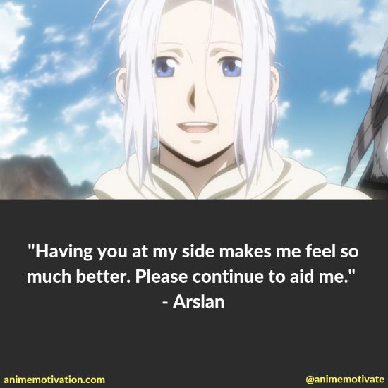 """All Of The Best Quotes Taken From """"The Heroic Legend Of Arslan"""" Anime 10"""