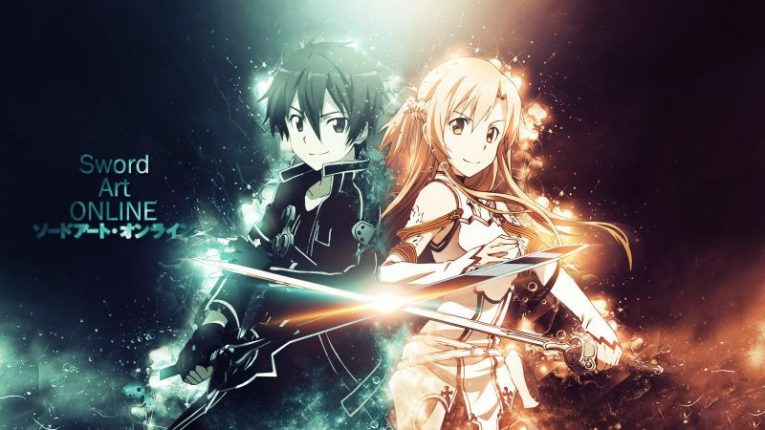 asuna and kirito together wallpaper