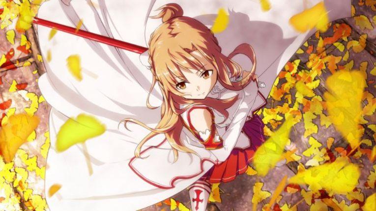 asuna yuuki sword wallpaper