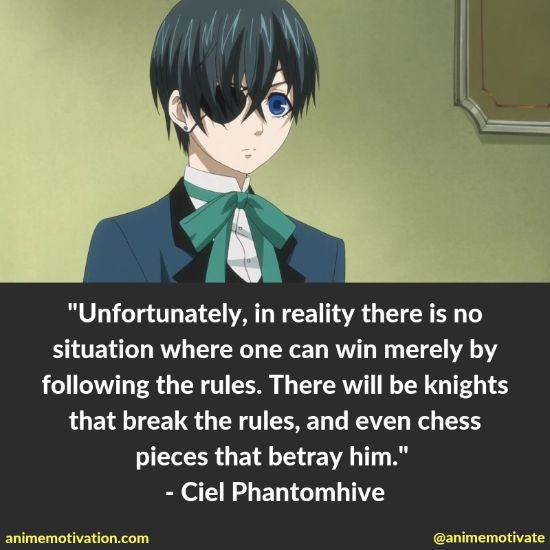 ciel phantomhive quotes 15