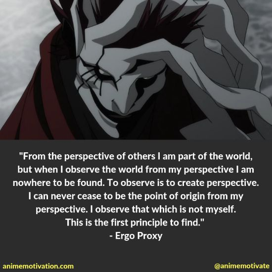 The Best Quotes From The Classic Anime Series: Ergo Proxy!