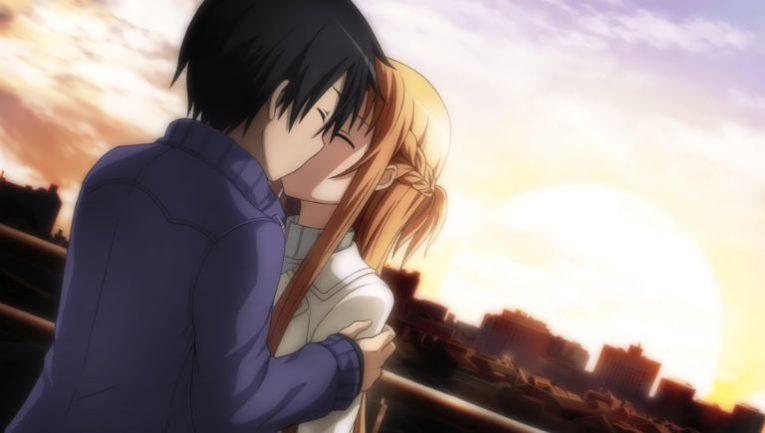 kazuto and asuna romantic wallpaper