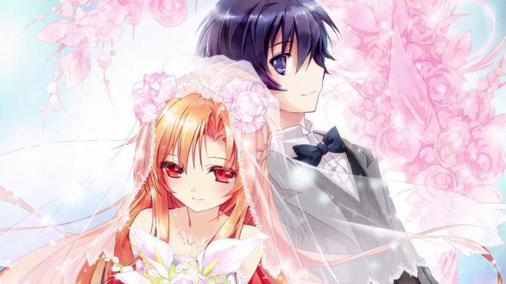 kirito and asuna married wallpaper