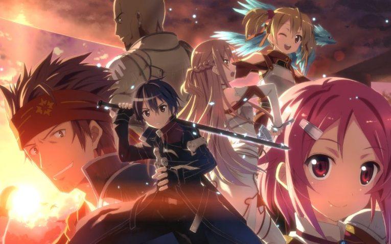 sword art online characters happy wallpaper