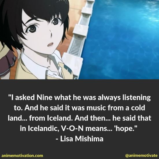 Lisa Mishima quotes 1