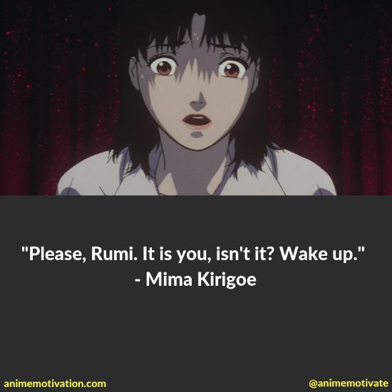 A Collection Of The Darkest Anime Quotes From Perfect Blue