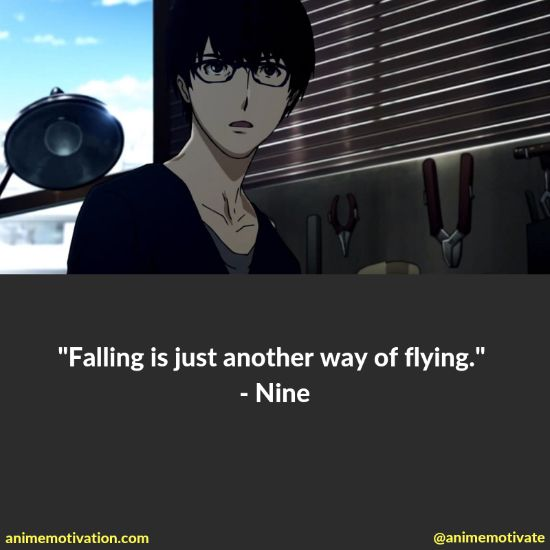 Nine quotes terror in resonance 5