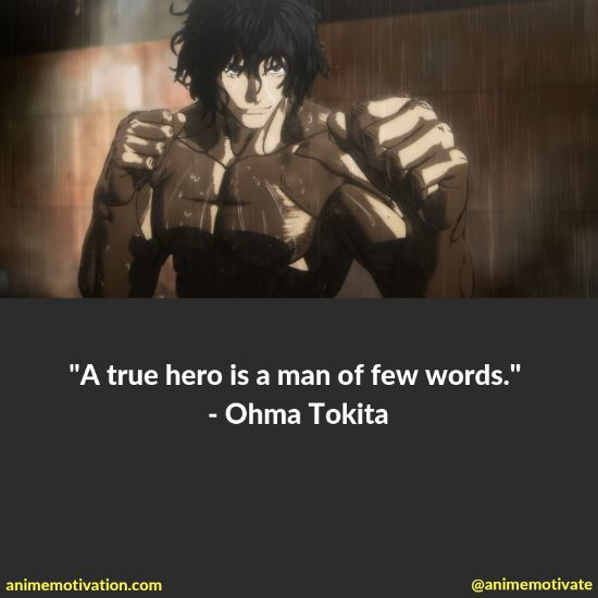 A Collection Of Kengan Ashura Quotes For Manga & Anime Fans 1