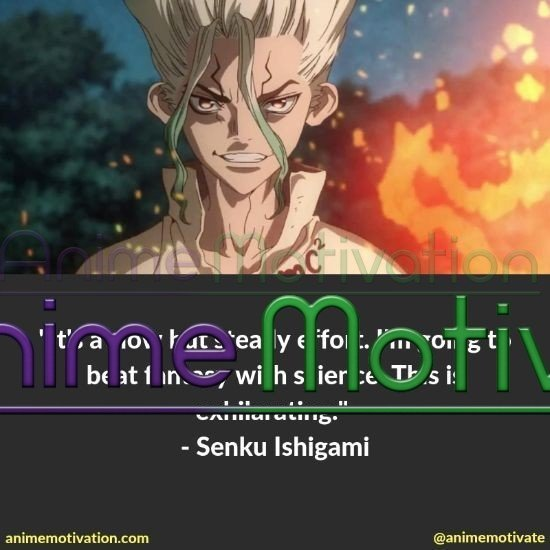Senku Ishigami quotes 3