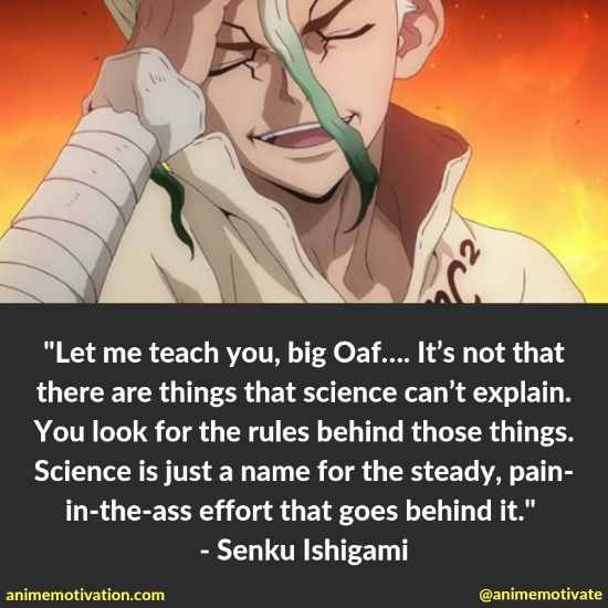 Senku Ishigami quotes 4