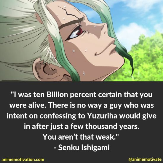 Senku Ishigami quotes 5