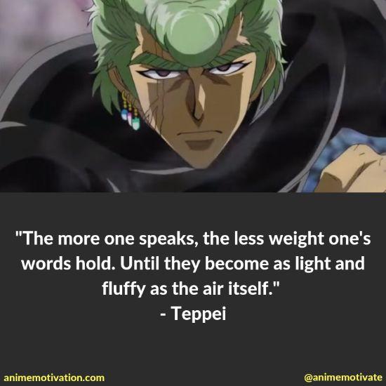 Teppei quotes toriko