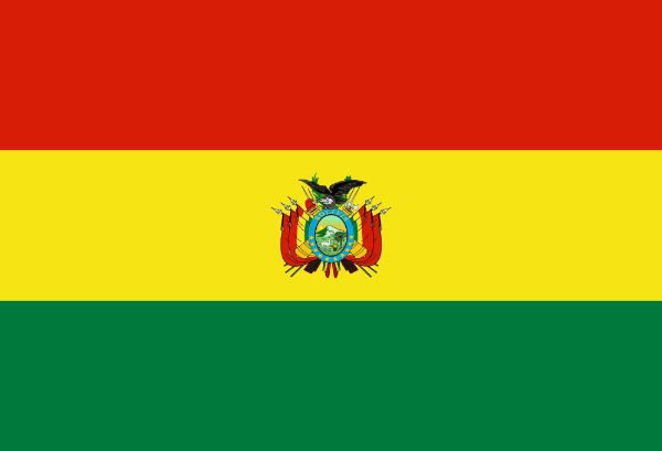 bolivia flag red yellow green