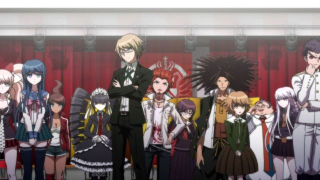 danganronpa anime characters episode 1