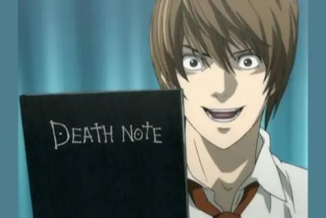 death note book anime