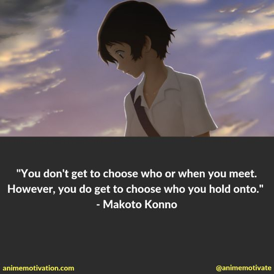 "The Most Thought Provoking Quotes From ""The Girl Who Leapt Through Time"""